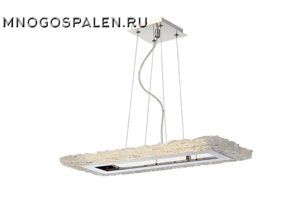Подвесной светодиодный светильник Crystal Lux Alto SP L57 Chrome купить в салоне-студии мебели Барселона mnogospalen.ru много спален мебель Италии классические современные