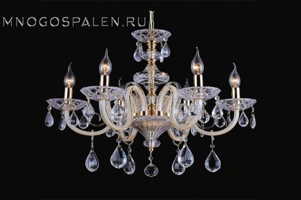 Люстра DALIA SP 6 купить в салоне-студии мебели Барселона mnogospalen.ru много спален мебель Италии классические современные
