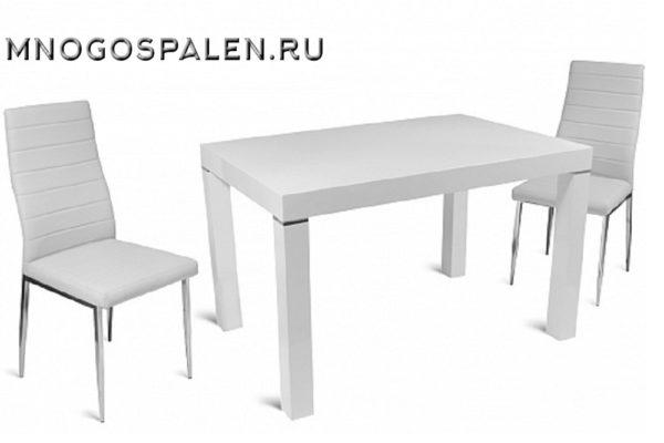 Стол обеденный GLESSE купить в салоне-студии мебели Барселона mnogospalen.ru много спален мебель Италии классические современные