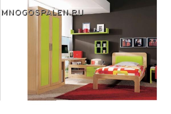 Спальня JUVENIL MERLIN купить в салоне-студии мебели Барселона mnogospalen.ru много спален мебель Италии классические современные