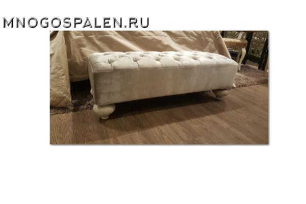 Банкетка арт. FB.BEB.PL.168 купить в салоне-студии мебели Барселона mnogospalen.ru много спален мебель Италии классические современные