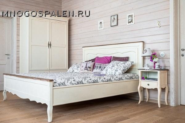 Кровать Прованс купить в салоне-студии мебели Барселона mnogospalen.ru много спален мебель Италии классические современные