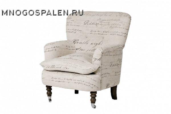Кресло KD011- FVRCASR купить в салоне-студии мебели Барселона mnogospalen.ru много спален мебель Италии классические современные