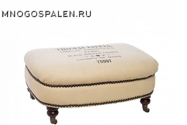 Пуфик Tomas-Eiffiel купить в салоне-студии мебели Барселона mnogospalen.ru много спален мебель Италии классические современные
