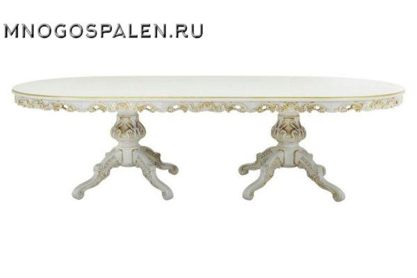 СТОЛ «АМПИР» купить в салоне-студии мебели Барселона mnogospalen.ru много спален мебель Италии классические современные