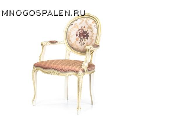 Кресло Луиз-3 купить в салоне-студии мебели Барселона mnogospalen.ru много спален мебель Италии классические современные