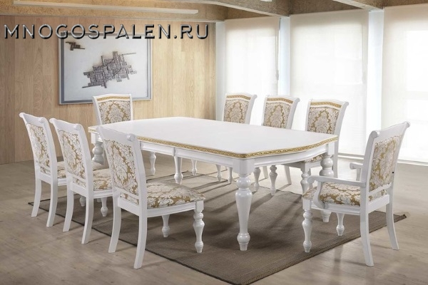 Стол OPERA купить в салоне-студии мебели Барселона mnogospalen.ru много спален мебель Италии классические современные