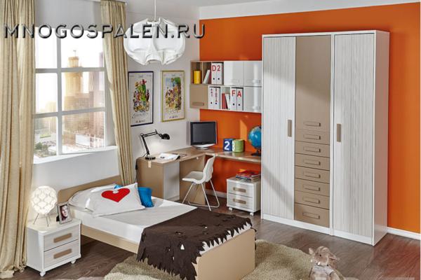 Детская композиция 13 DANZA купить в салоне-студии мебели Барселона mnogospalen.ru много спален мебель Италии классические современные