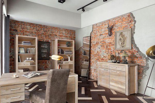 Кабинет «Стромберг» купить в салоне-студии мебели Барселона mnogospalen.ru много спален мебель Италии классические современные