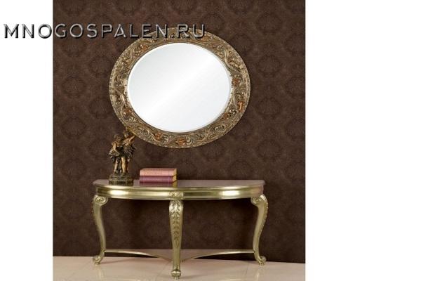 Консоль А89005-1 Gloria античное серебро купить в салоне-студии мебели Барселона mnogospalen.ru много спален мебель Италии классические современные