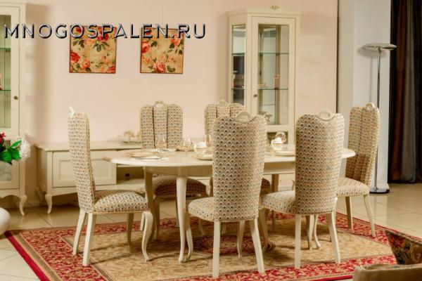 Стол Isolda купить в салоне-студии мебели Барселона mnogospalen.ru много спален мебель Италии классические современные