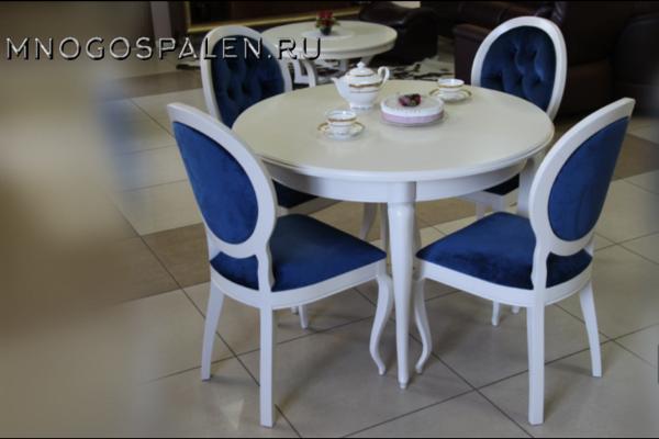 Стол круглый Isolda купить в салоне-студии мебели Барселона mnogospalen.ru много спален мебель Италии классические современные