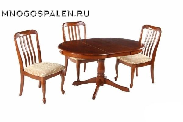 Стол DM-T4EX Real купить в салоне-студии мебели Барселона mnogospalen.ru много спален мебель Италии классические современные