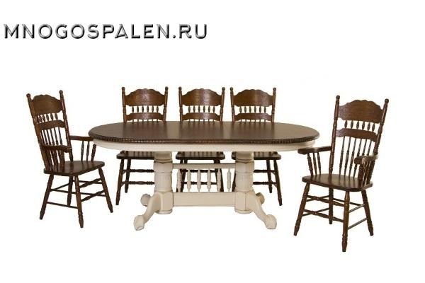 Стол HNDT - 4296 SWC HN GLAZE купить в салоне-студии мебели Барселона mnogospalen.ru много спален мебель Италии классические современные