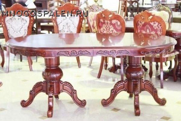 Стол D2079 купить в салоне-студии мебели Барселона mnogospalen.ru много спален мебель Италии классические современные