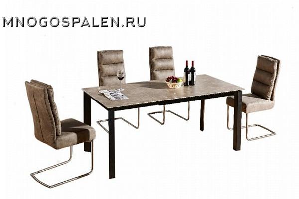 Стол MK-6001-CP купить в салоне-студии мебели Барселона mnogospalen.ru много спален мебель Италии классические современные