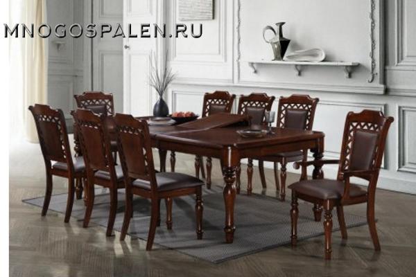 Стол MK-4501-LW CHARLIZE купить в салоне-студии мебели Барселона mnogospalen.ru много спален мебель Италии классические современные