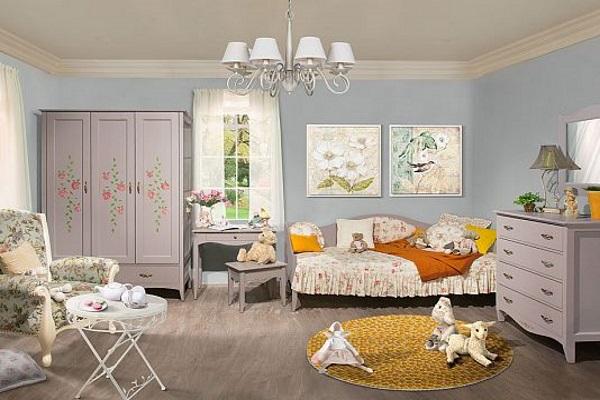 Детская «Флорис» купить в салоне-студии мебели Барселона mnogospalen.ru много спален мебель Италии классические современные