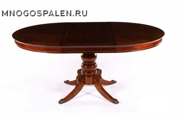Стол 593-22 Dark Walnut купить в салоне-студии мебели Барселона mnogospalen.ru много спален мебель Италии классические современные