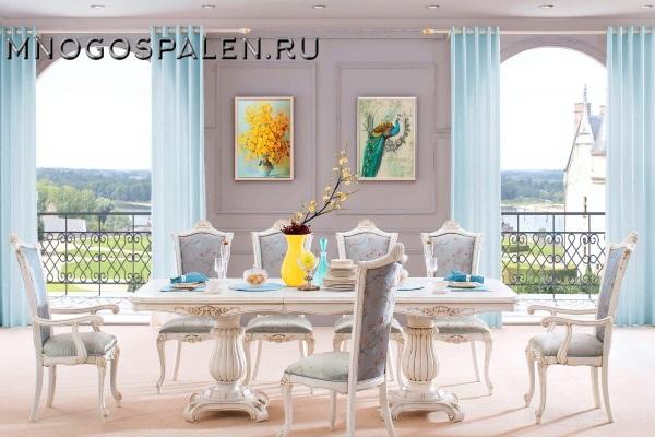 Стол обеденный Maris купить в салоне-студии мебели Барселона mnogospalen.ru много спален мебель Италии классические современные