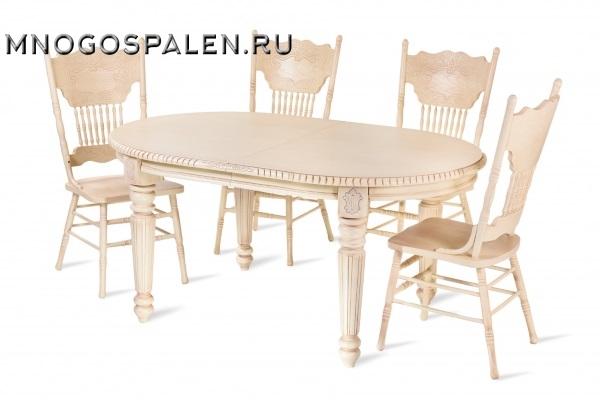 Стол HNDT - 4280 SWL купить в салоне-студии мебели Барселона mnogospalen.ru много спален мебель Италии классические современные
