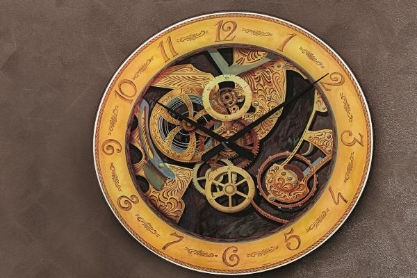 Часы Scheletrato купить в салоне-студии мебели Барселона mnogospalen.ru много спален мебель Италии классические современные