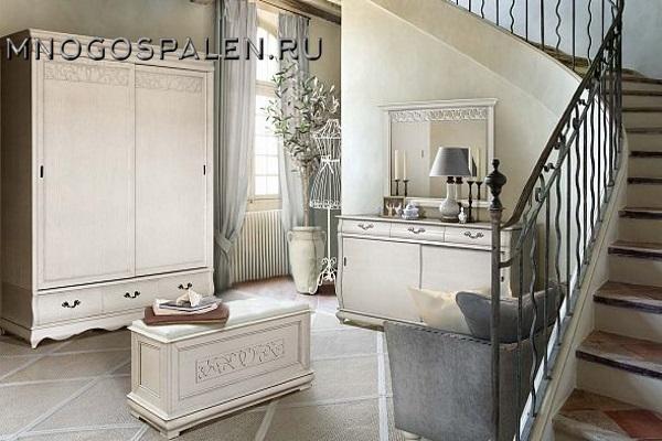 Прихожая «Оскар» #1 купить в салоне-студии мебели Барселона mnogospalen.ru много спален мебель Италии классические современные