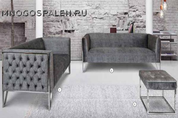 Диван JESSICA купить в салоне-студии мебели Барселона mnogospalen.ru много спален мебель Италии классические современные