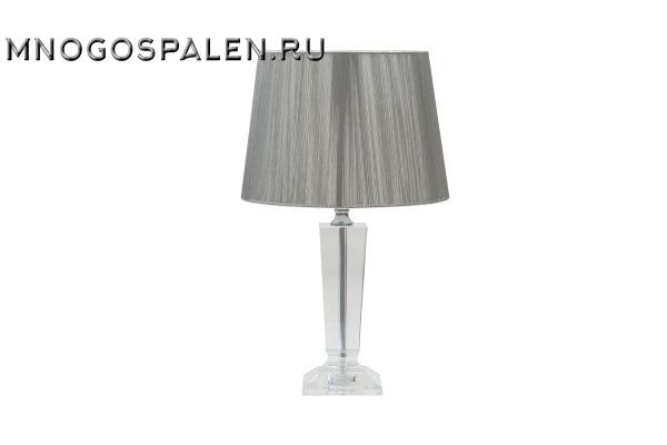 Настольная лампа из хрусталя купить в салоне-студии мебели Барселона mnogospalen.ru много спален мебель Италии классические современные