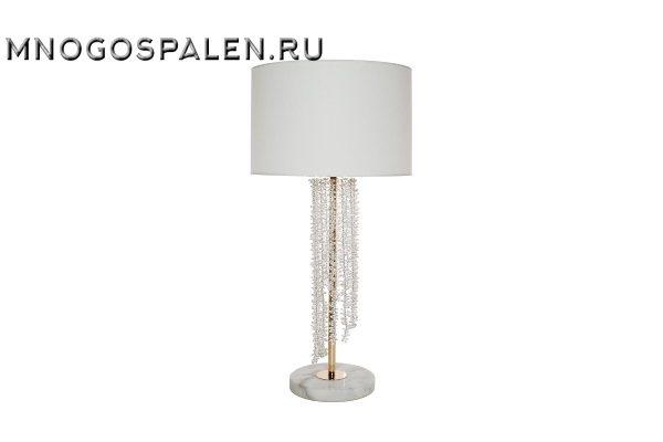 Лампа настольная с кристаллами купить в салоне-студии мебели Барселона mnogospalen.ru много спален мебель Италии классические современные