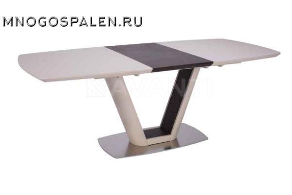 Стол обеденный раскладной MIAMI купить в салоне-студии мебели Барселона mnogospalen.ru много спален мебель Италии классические современные