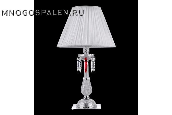 Настольная лампа Crystal Lux Princess LG1 купить в салоне-студии мебели Барселона mnogospalen.ru много спален мебель Италии классические современные