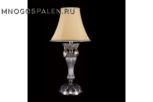 Настольная лампа Crystal Lux Siena LG1 купить в салоне-студии мебели Барселона mnogospalen.ru много спален мебель Италии классические современные