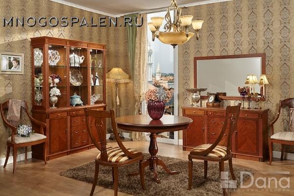 Витрина №927 купить в салоне-студии мебели Барселона mnogospalen.ru много спален мебель Италии классические современные