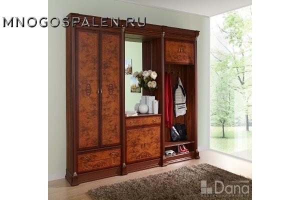 Прихожая Атланата №72 купить в салоне-студии мебели Барселона mnogospalen.ru много спален мебель Италии классические современные