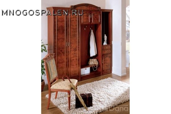 Прихожая Империя №3 купить в салоне-студии мебели Барселона mnogospalen.ru много спален мебель Италии классические современные