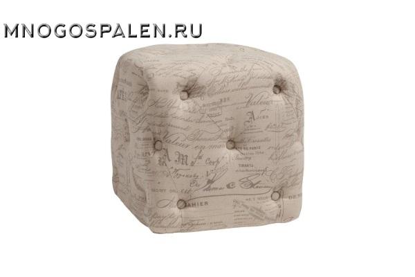 ПУФ MANELE GRIS FLAX М купить в салоне-студии мебели Барселона mnogospalen.ru много спален мебель Италии классические современные