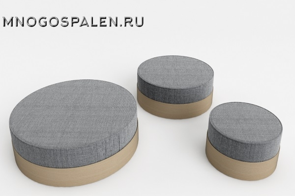 ПУФ TABS 46 купить в салоне-студии мебели Барселона mnogospalen.ru много спален мебель Италии классические современные