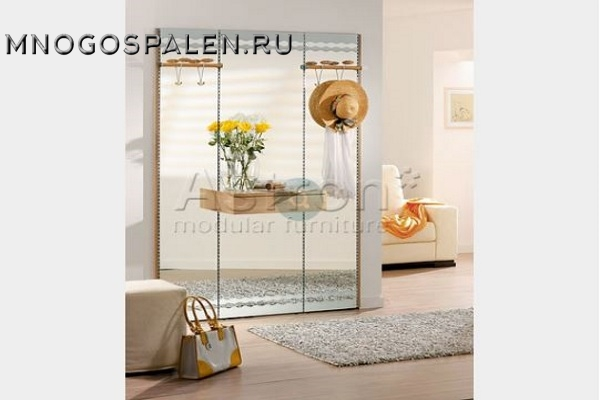 Прихожая в современном стиле Ka015 купить в салоне-студии мебели Барселона mnogospalen.ru много спален мебель Италии классические современные
