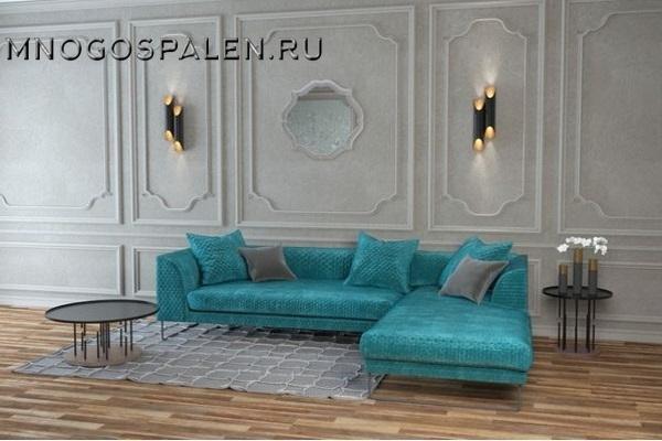 Диван HEMINGWAY купить в салоне-студии мебели Барселона mnogospalen.ru много спален мебель Италии классические современные