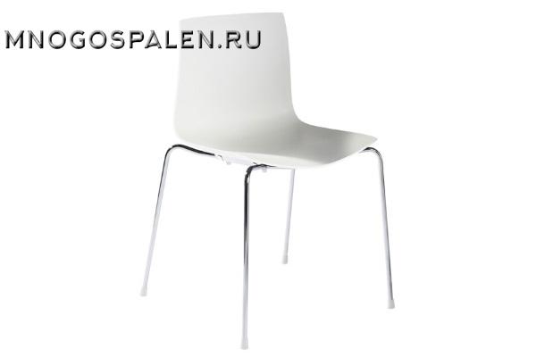 Дизайнерский стул Catifa 46 белый купить в салоне-студии мебели Барселона mnogospalen.ru много спален мебель Италии классические современные