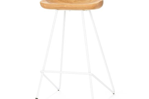 Полубарный стул Henry Hairpin  21430 купить в салоне-студии мебели Барселона mnogospalen.ru много спален мебель Италии классические современные