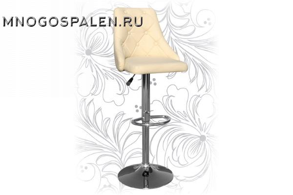 Барный стул 5021 Кремовый купить в салоне-студии мебели Барселона mnogospalen.ru много спален мебель Италии классические современные