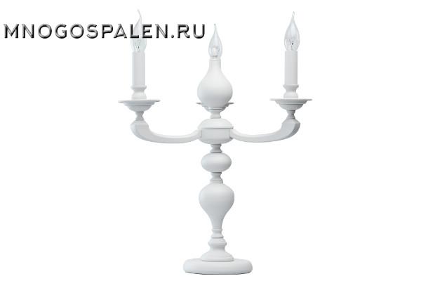 700031803 ДельРей 3*40W E14 220 V наст.лампа купить в салоне-студии мебели Барселона mnogospalen.ru много спален мебель Италии классические современные