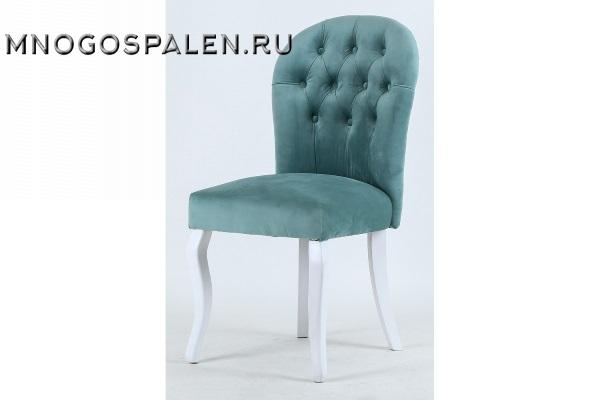 СТУЛ C-1056 VELVET DARK GREEN купить в салоне-студии мебели Барселона mnogospalen.ru много спален мебель Италии классические современные