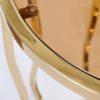 Столик журнальный круглый золотой купить в салоне-студии мебели Барселона mnogospalen.ru много спален мебель Италии классические современные