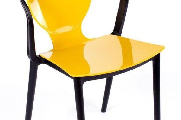 Стул SPOON горчичный купить в салоне-студии мебели Барселона mnogospalen.ru много спален мебель Италии классические современные