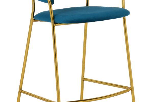 Барный стул Turin бирюзовый купить в салоне-студии мебели Барселона mnogospalen.ru много спален мебель Италии классические современные