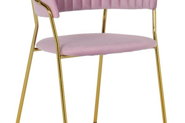 Стул Turin пудровый купить в салоне-студии мебели Барселона mnogospalen.ru много спален мебель Италии классические современные