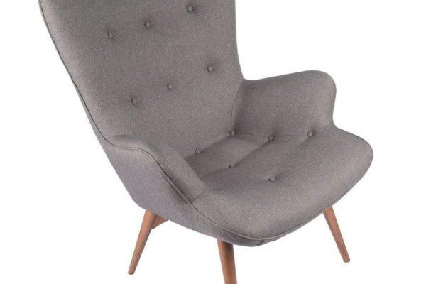 Кресло «CONTOUR», серый купить в салоне-студии мебели Барселона mnogospalen.ru много спален мебель Италии классические современные
